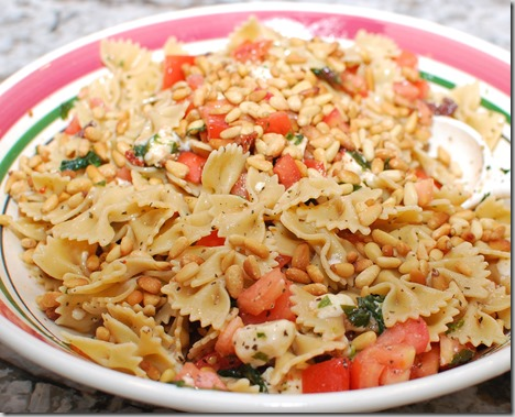 Picnic Pasta with Pine Nuts6