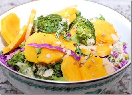 Broccoli Squash Salad with Tahini Sauce3