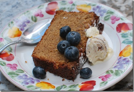 grains and pound cake7