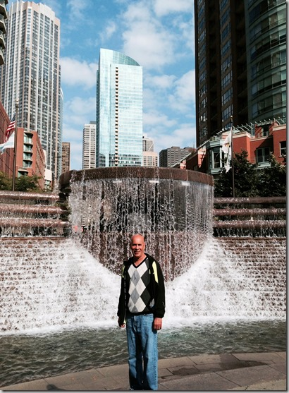 Chicago fountain ted