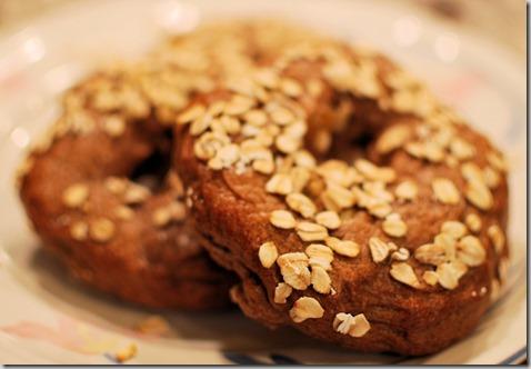 Apple Spice Wheat Bagels2