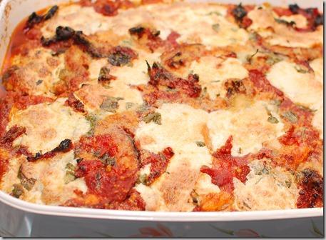 Vegetable Lasagna and Tuna Loaf3