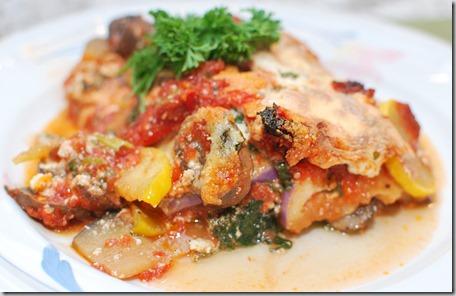 Vegetable Lasagna and Tuna Loaf4