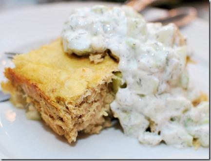 Vegetable Lasagna and Tuna Loaf7