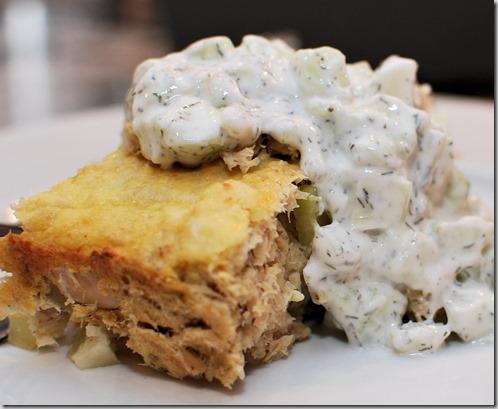 Vegetable Lasagna and Tuna Loaf8