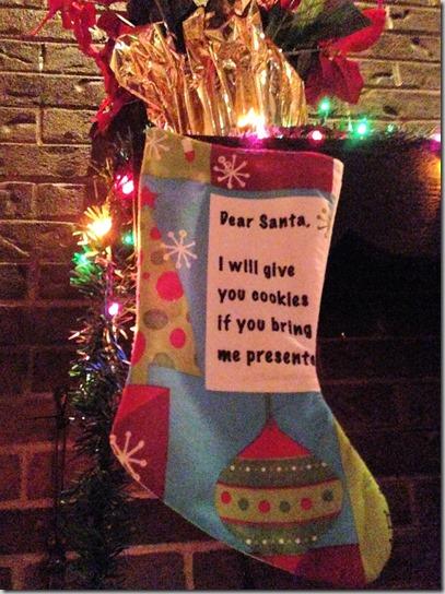 Ambassador stocking
