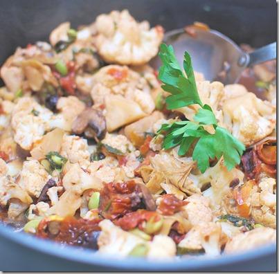 Artichoke Cauliflower Ragout1