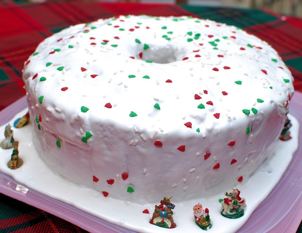 Christmas Cake Royal Icing Decorating Ideas : Fruit cake aka Christmas Cake