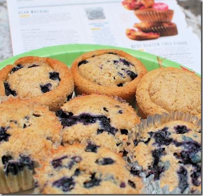 Gluten Free Blueberry Muffins3