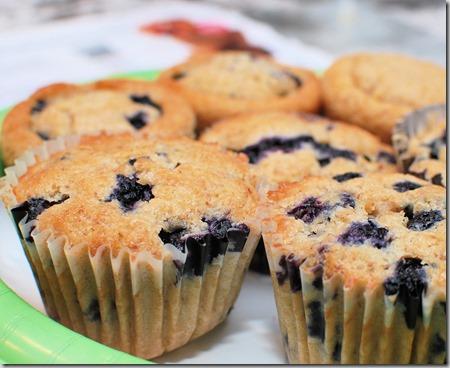 Gluten Free Blueberry Muffins5