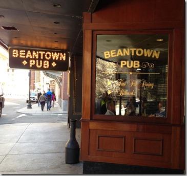 Bean town lunch