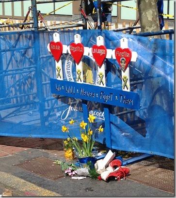 Finish line memorial