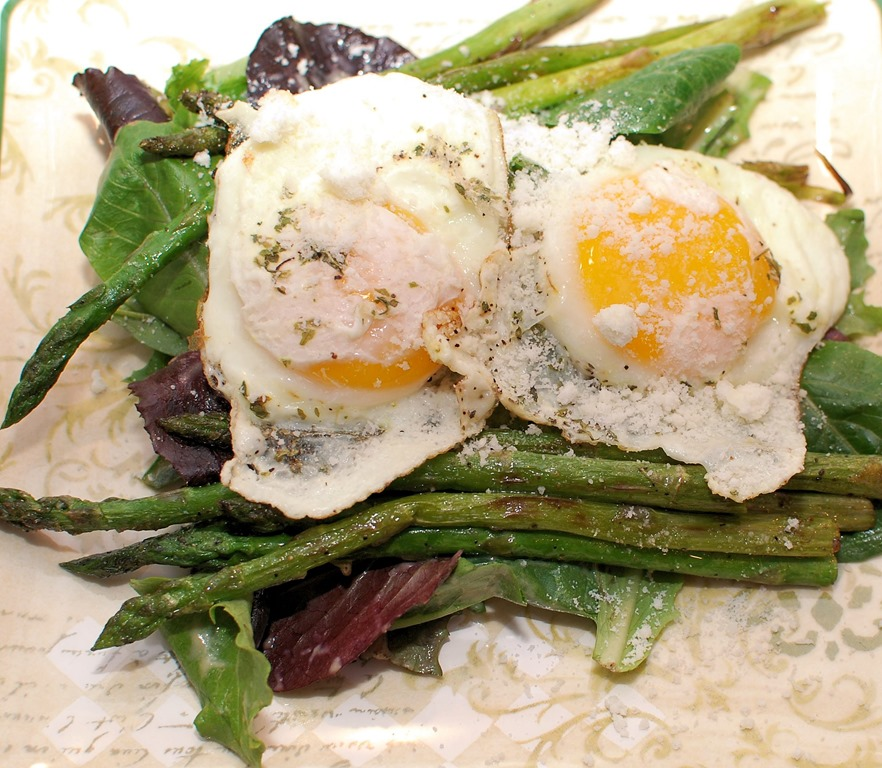 how to cook asparagus with olive oil in a pan