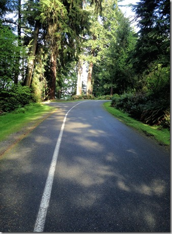Point Defiance route