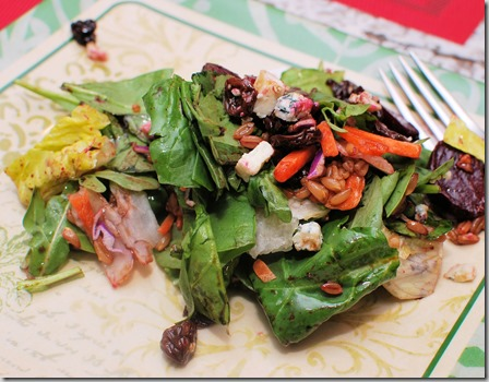 Roasted Beets and farro salad4
