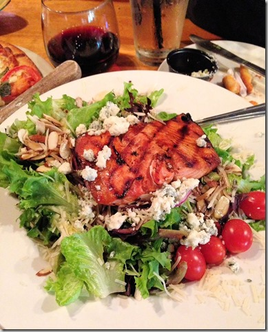 Tacoma Harmon salmon salad