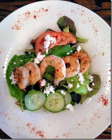 cafe hummus grilled shrimp
