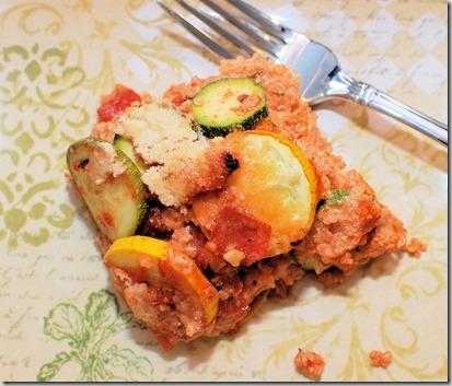 Gluten Free Vegetable Quinoa Lasagna1