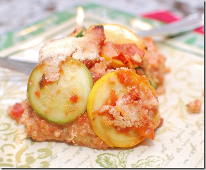 Gluten Free Vegetable Quinoa Lasagna3