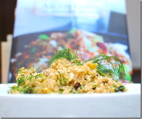 Lemon Quinoa with Zucchini,m, Currents and Dill1 - Copy