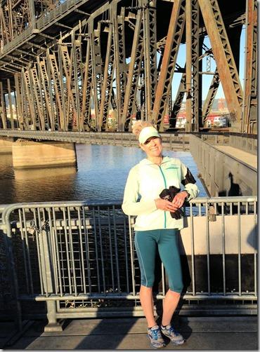 Jo on the bridge