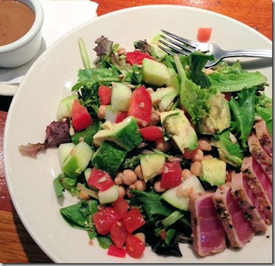 Rock bottom salad