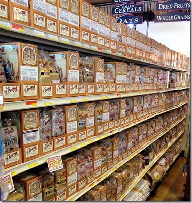 packed shelves