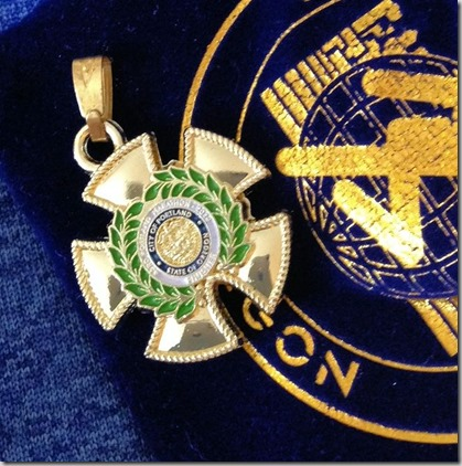 shirt medal pendant