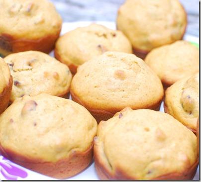 Pumpkin Craisin Nut Muffins2