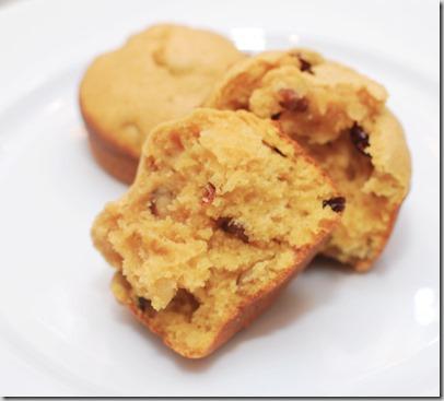 Pumpkin Craisin Nut Muffins4