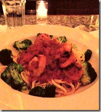 Shrimp Fra Diavolo at Hudson