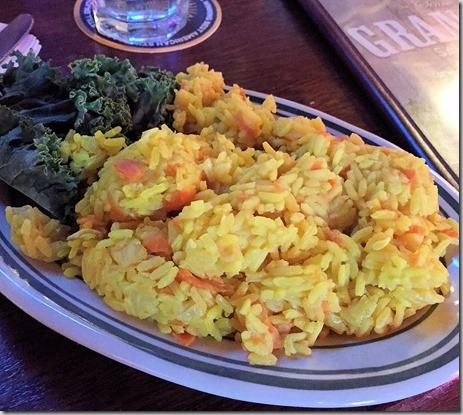 Grandmas saffron rice