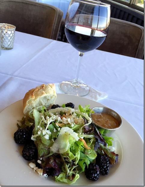 JJ Astors Blackberry salad