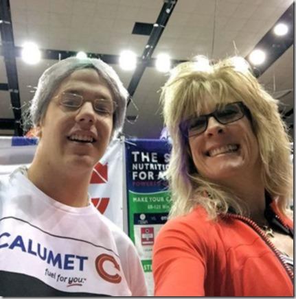 me and Calumet Grandma