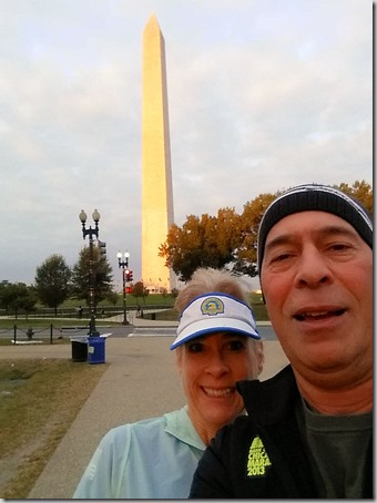 Sat Run Memorial1 selfie